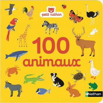 100 animaux - imagier - dès 10 mois