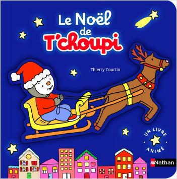 Le Noël de T'choupi - Livre Pop-up Dès 2 ans