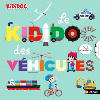 Le Kididoc des véhicules - Livre animé Kididoc - Dès 4 ans