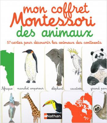 Mon coffret Montessori des animaux - Dès 3 ans