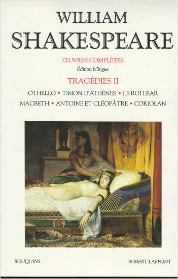 Oeuvres complètes - Tragédies - Tome 2 - Édition bilingue francais-anglais