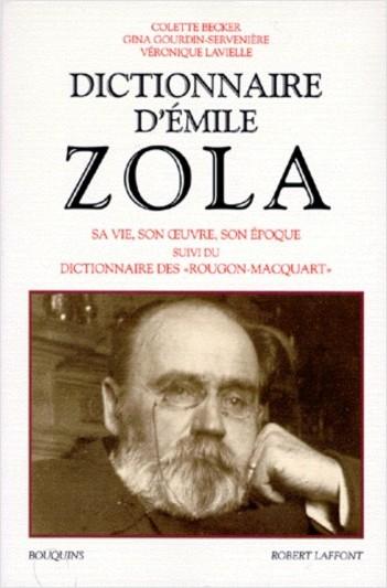 Dictionnaire d'Emile Zola