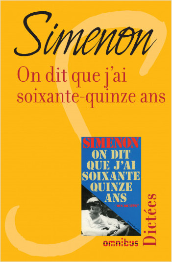 On dit que j'ai soixante-quinze ans
