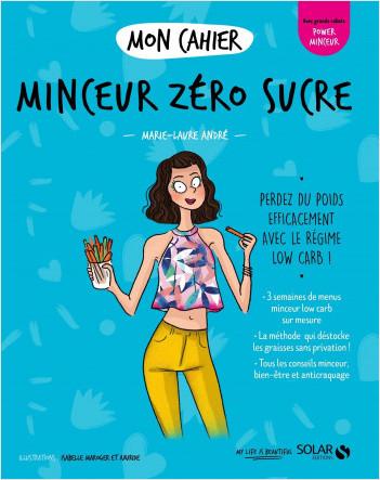 Mon cahier Minceur zéro sucre new