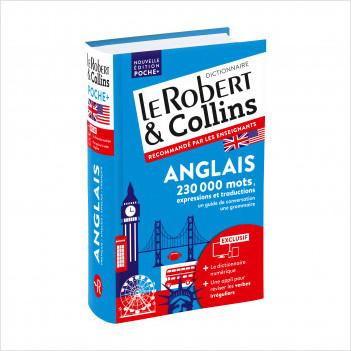 Dictionnaire Le Robert & Collins Poche Plus Anglais et sa version numérique à télécharger PC