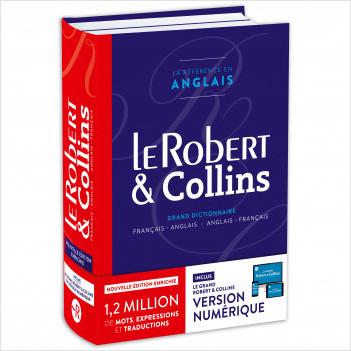 Dictionnaire Le Robert & Collins Anglais Senior - Version Premium avec accès 18 mois au Grand Robert & Collins numérique