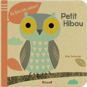 Petit hibou - Un livre très nature !