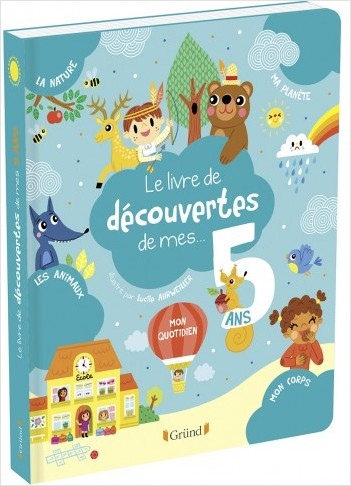 Le livre de découvertes de mes 5 ans