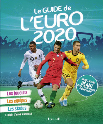 Mon guide de l'Euro 2020 – Album documentaire – À partir de 7 ans