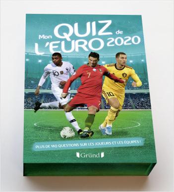 Mon quiz de l'Euro 2020 – Boîte de jeu de cartes de football – À partir de 7 ans