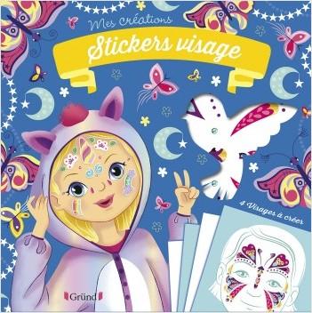 Stickers visage - Animaux magiques