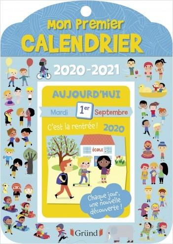 Mon premier calendrier 2020-2021