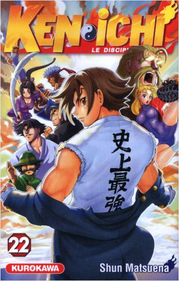 Ken-ichi - saison 1, Le Disciple ultime - tome 22