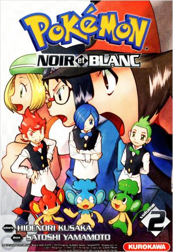 Pokémon - Noir et Blanc - tome 02