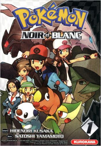 Pokémon- Noir et Blanc- tome 01