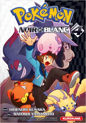Pokémon - Noir et Blanc - tome 04