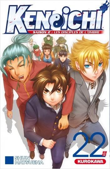 Ken-ichi - saison 2, Les Disciples de l'ombre - tome 22