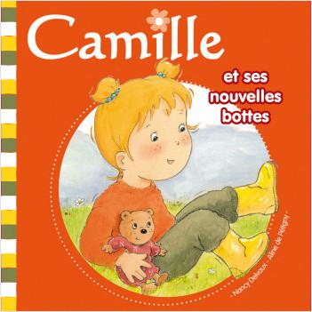 Camille et ses nouvelles bottes T12