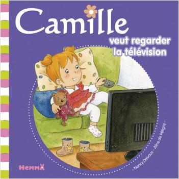 Camille veut regarder la télévision T34