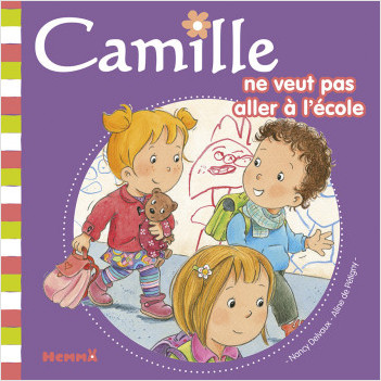 Camille ne veut pas aller à l'école T37