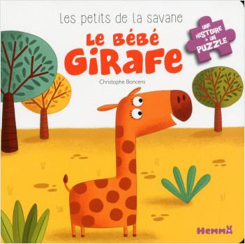 Les petits de la savane - Le bébé girafe
