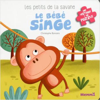 Les petits de la savane - Le bébé singe