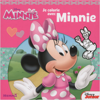 Disney Minnie Junior - Je colorie avec Minnie
