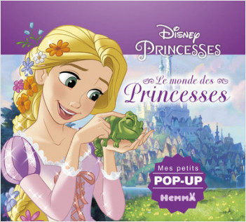 Disney Princesses - Le monde des Princesses - Mes petits pop-up