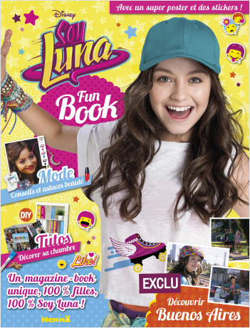 Disney Soy Luna - Fun Book