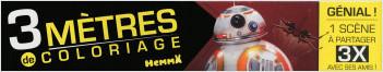 Disney Star Wars - Le Réveil de la Force Ep VII - 3 mètres de coloriage