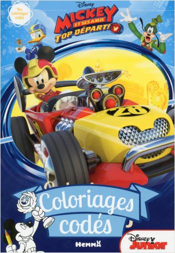 Disney Mickey et ses amis, Top départ - Coloriages codés