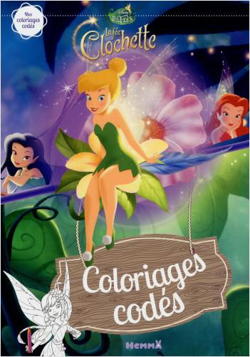 Disney - La Fée Clochette - Coloriages codés