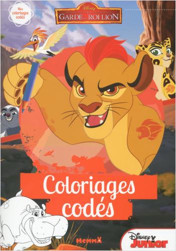 Disney - La Garde du Roi Lion - Coloriages codés