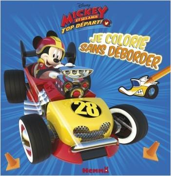 Disney Mickey et ses amis, Top départ - Je colorie sans déborder