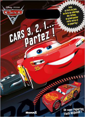 Cars 3 - 3, 2, 1… Partez ! Pochette surprise