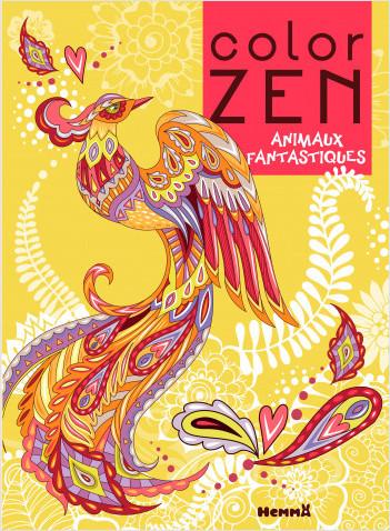 Color Zen - Animaux fantastiques (Phénix)