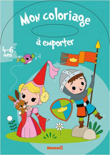 Mon coloriage à emporter (4-6 ans) (Princesse et chevalier)