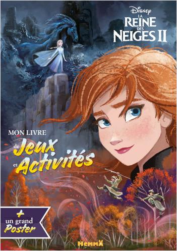 Disney La Reine des Neiges 2 - Mon livre de jeux et activités + Un grand poster (Elsa)
