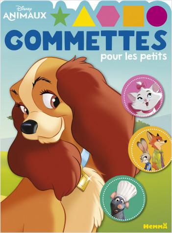 Disney Animaux - Gommettes pour les petits (Belle)