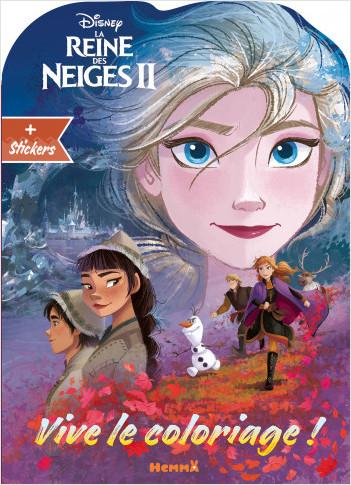 Disney La Reine des Neiges 2 - Vive le coloriage ! (visage Elsa)