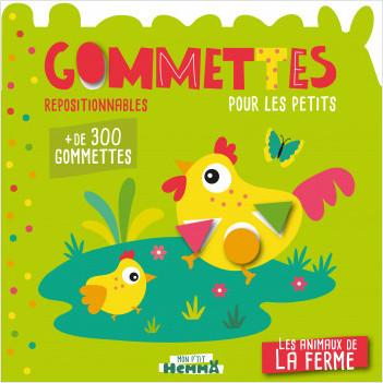 Mon P'tit Hemma - Gommettes pour les petits - Les animaux de la ferme