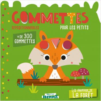 Mon P'tit Hemma - Gommettes pour les petits - Les animaux de la forêt