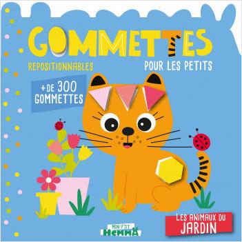Mon P'tit Hemma, Gommettes - Les animaux du jardin