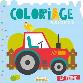Mon P'tit Hemma - Coloriage - La Ferme
