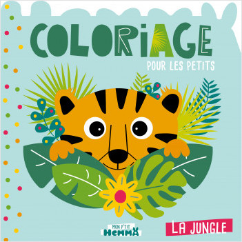 Mon P'tit Hemma - Coloriage - La Jungle