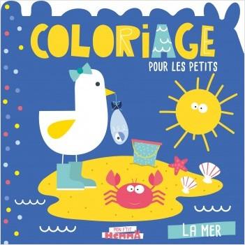 Mon P'tit Hemma - Coloriage pour les petits - La Mer