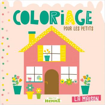 Mon P'tit Hemma - Coloriage pour les petits - La Maison