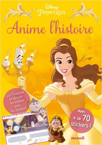 Disney Princesses - Anime l'histoire de Belle