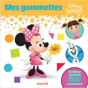 Disney Baby - Mes gommettes (Minnie)