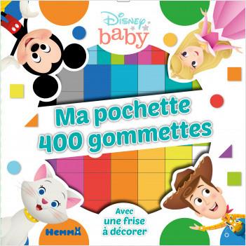 Disney Baby - Ma pochette 400 gommettes (Woody-Aristochats)